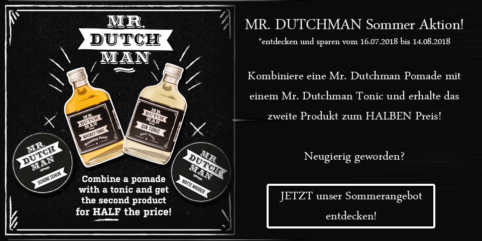 Mr. Dutchman Summer 2018