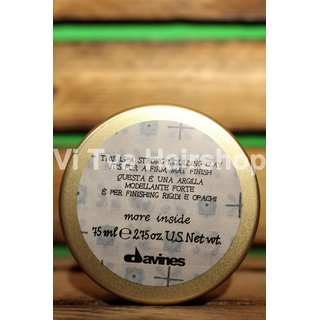 Davines MORE INSIDE Strong Moulding Clay - 75ml