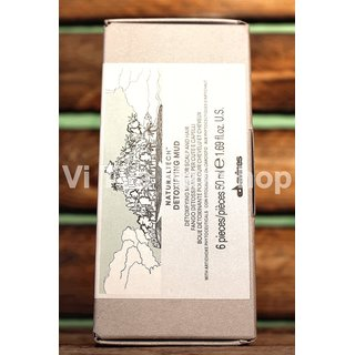 Davines NATURAL TECH Detoxifying Mud - 6x50ml