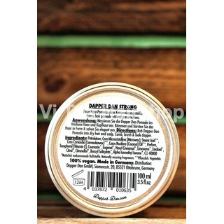 Dapper Dan Men´s Pomade STRONG