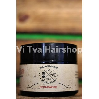 Beard Brother Skäggvax  CEDARWOOD - Beard Balm strong